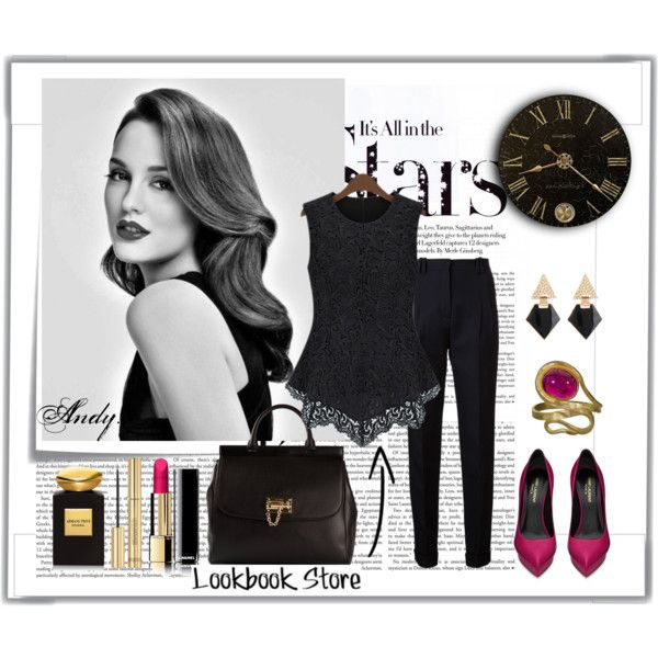 """""""Lookbook store:Crochet Lace Tank"""" by andyts on Polyvore"""