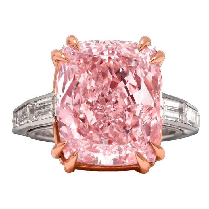 The Majestic Pink Diamond  GIA-certified 12.27-carat Natural Fancy Pink Diamond, Type IIa with VVSI clarity