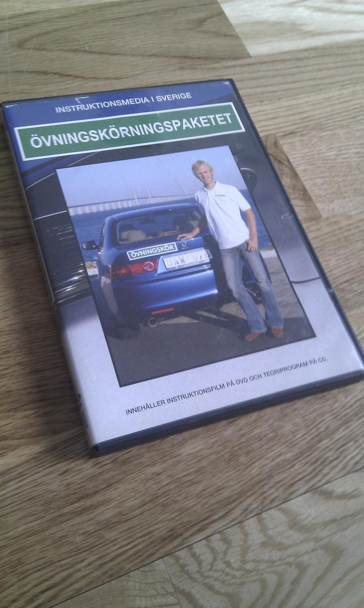 Övningskörningspaketet DVD