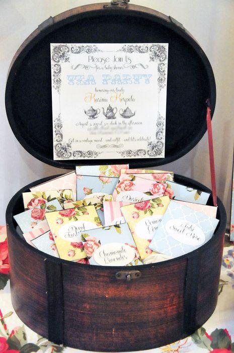 Vintage Tea Party 10 {BN Black Book of Parties} Vintage Tea Party Baby Shower