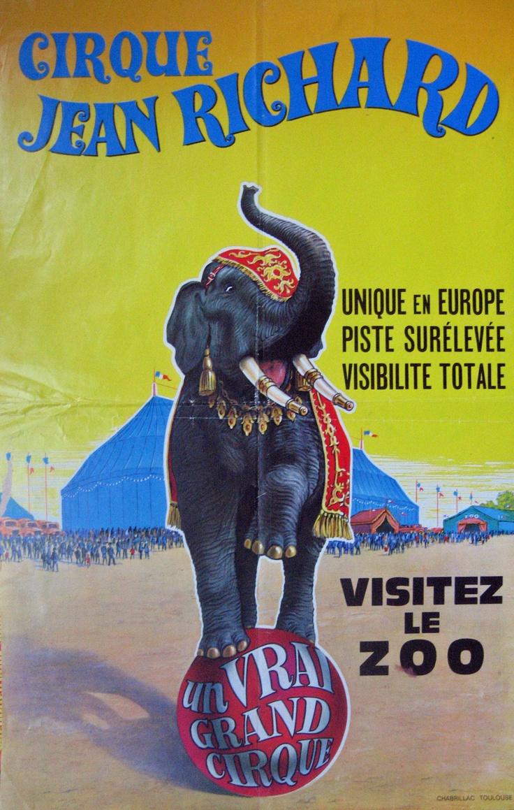 Cirque Jean Richard Eléphant