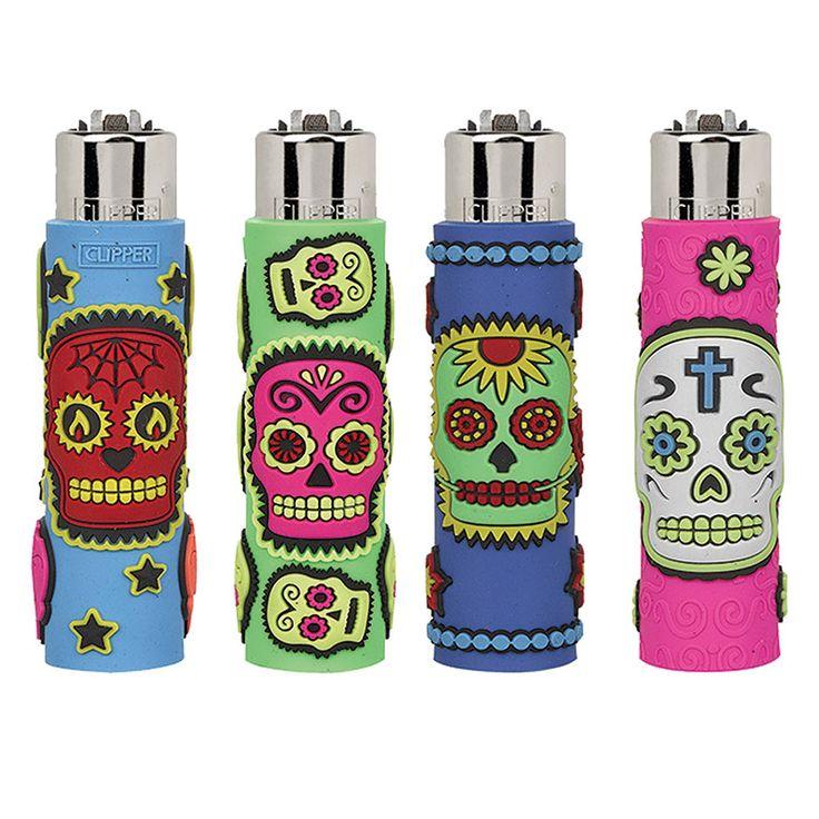 Mexican Skull anche sugli accendini della gamma Pop! Tra i più apprezzati di sempre!