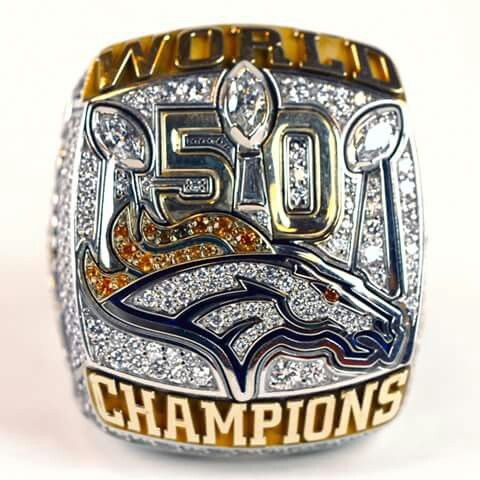 52 best superbowl rings images on pinterest championship rings football players and nfl football - Denver broncos super bowl 50 wallpaper ...