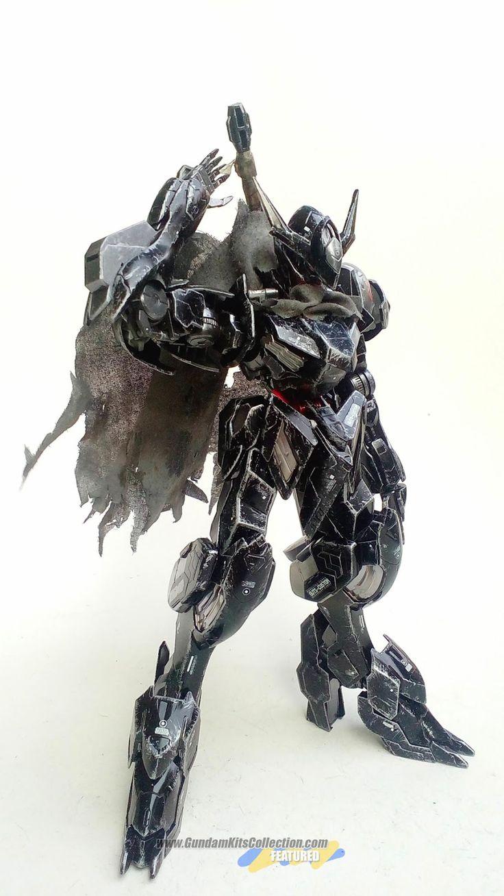 "Custom Build: 1/100 Full Mechanics Gundam Barbatos Lupus ""- Guts Custom - Berserker Armor "" - Gundam Kits Collection News and Reviews"