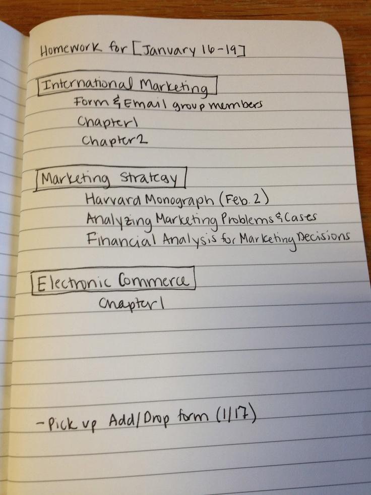 Business studies coursework