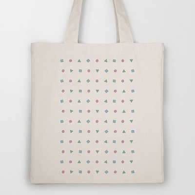 PATTERN #1 Tote Bag by Here Lives Amanda - $18.00