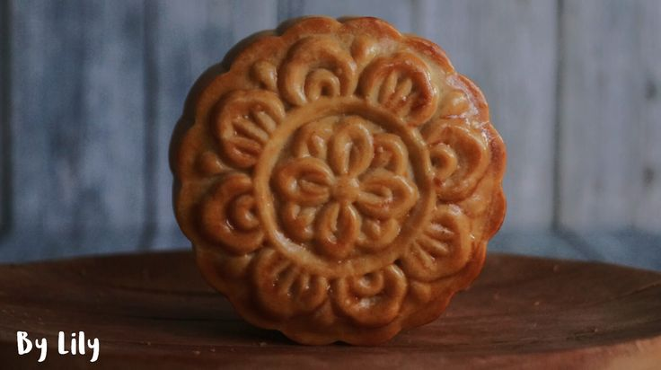 Mooncake...traditional mooncake with tausa and salted eggyolk