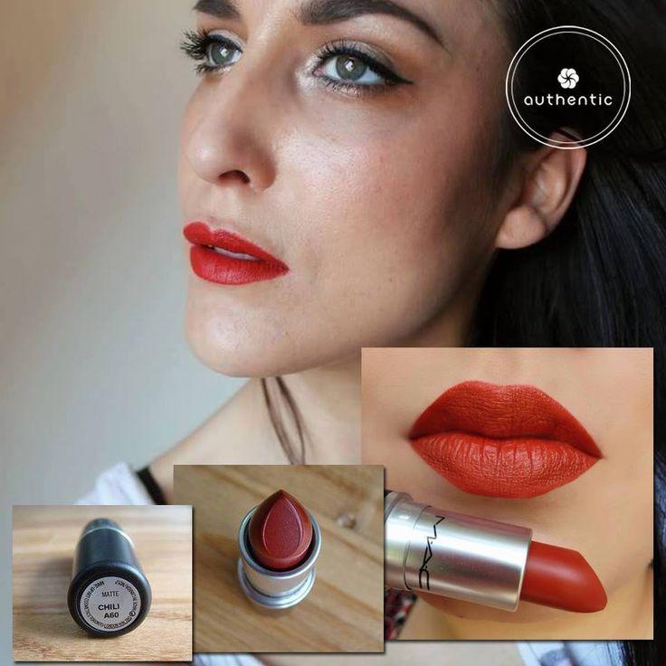 Son MAC lipstick màu Chili
