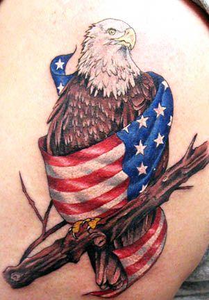 I like the flag: Tattoo Ideas, American Eagle, Tattoo Designs, Eagle Tattoos, Tattoo'S, Eagles