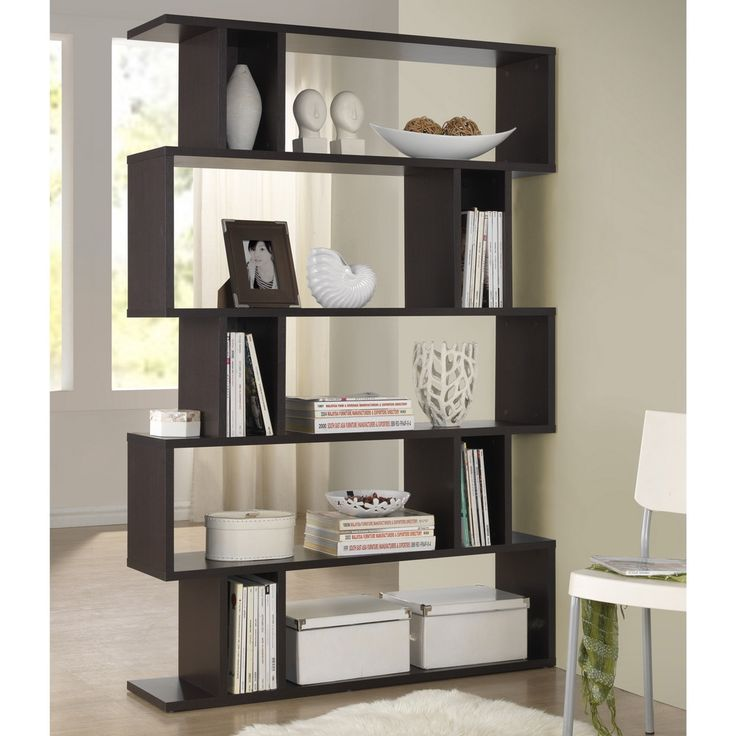 Baxton Studio Samuel Dark Brown/ Espresso Modern Storage Shelf - Overstock™ Shopping - Great Deals on Baxton Studio Media/Bookshelves
