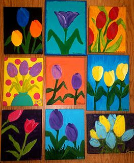 Great art teacher blog, a lot of amazing projects for elementary school