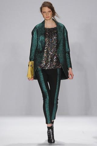 Rebecca Minkoff...gorgeous green!Fashion Weeks, Fallwinter 2012, 2012 Ready To Wear, Rebecca Minkoff, Fall 2012, Fashion Runway, 2012 Readytowear, Minkoff Fall, York Fashion