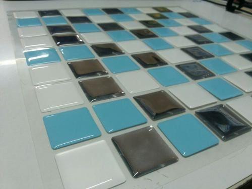 pastilhas adesivas resinadas  cozinha banheiro - facil facil