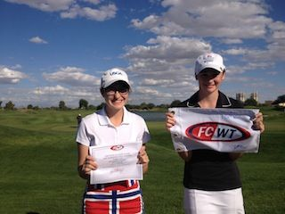 FCWT Junior Golf Tournament at ASU 2014 girls top finishers