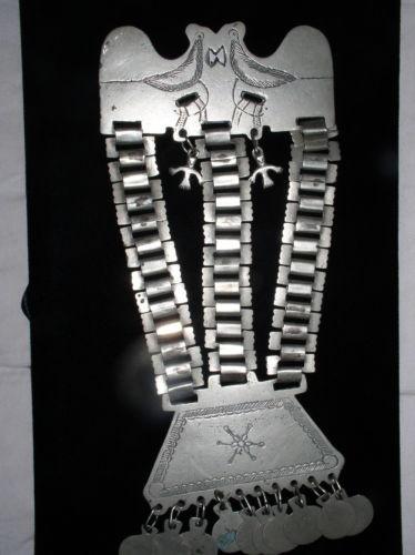 antique mapuche indian necklace