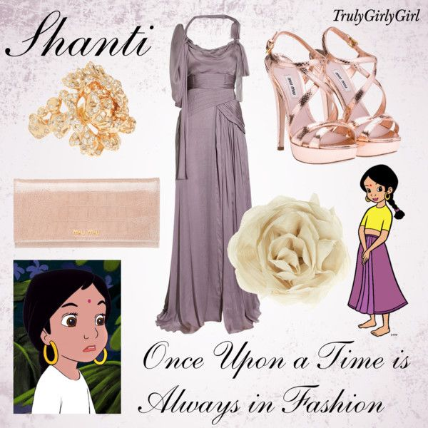 Disney Style: Shanti, created by trulygirlygirl on Polyvore