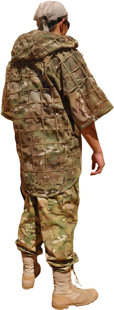 MCM Cobra with Hood (ghillie suit foundation) by Tactical Concealment ($250)