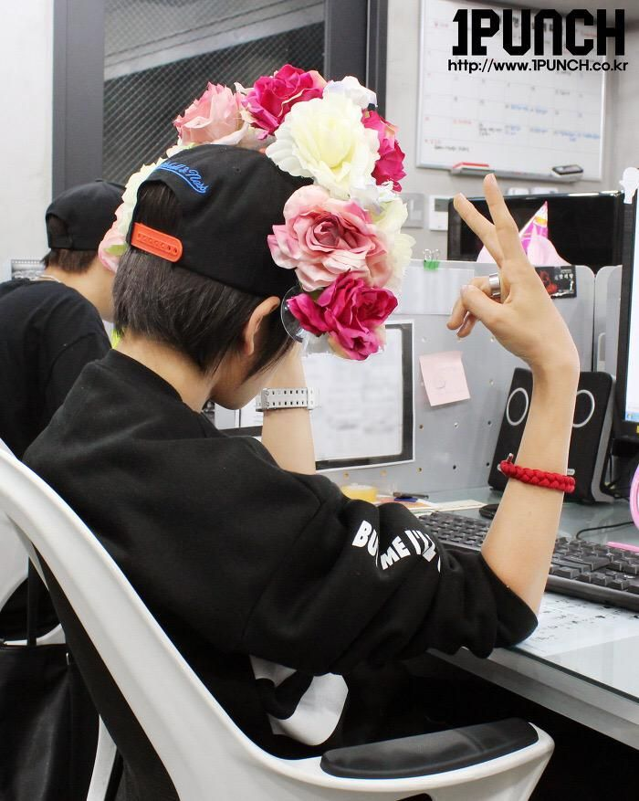 [PIC] 150515 1PUNCH @Rose Day Samuel Kim.