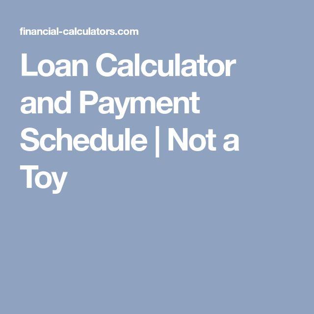 Best 25+ Loans calculator ideas on Pinterest Saving money - loan calculator template