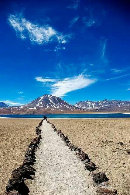 Atacama dessert in Chili