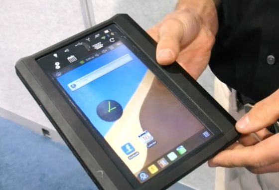 Orchard introduces Toughlet rugged tablet with sunlight viewable display