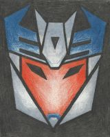 Decepticon insignia - Breakdown (TFP) by LadyIronhide