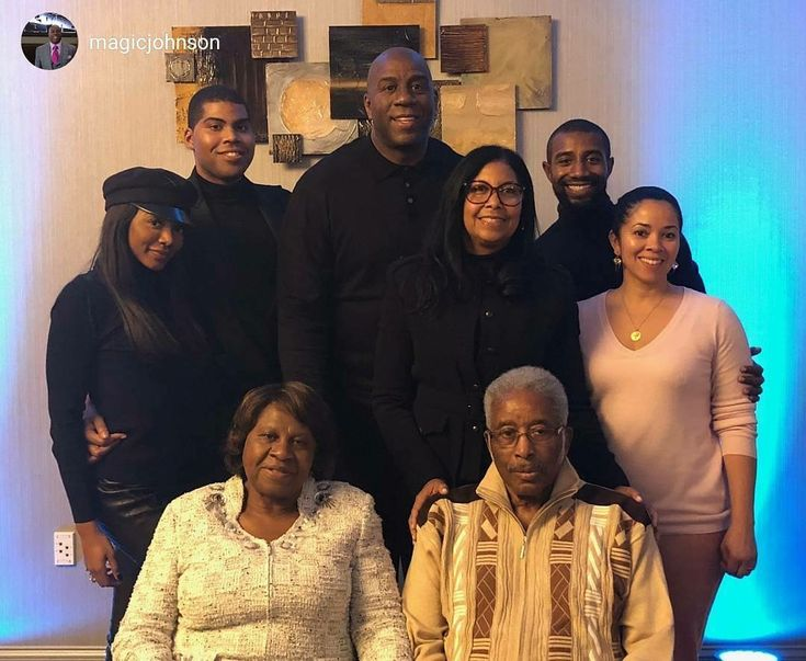 #FamilyIsEverything❤   #rp from @magicjohnson In Lansing celebrating my parent's 60th wedding anniversary with Cookie and my kids, Elisa, EJ, Andre and his wife Lisa. My parents have been an amazing example of marriage, love, family and faith. Our family has been so blessed because of their union. I am so happy our entire family was able to celebrate them today. @ Lansing, Michigan.  Cookie Johnson Facebook Page.