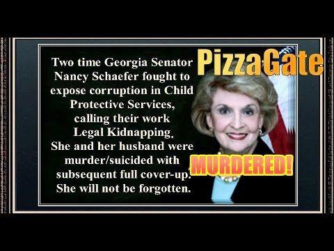 PIZZAGATE SMOKING GUN: Senator Nancy Schaefer MURDERED for   Exposing CPS! WOW! - YouTube... NOV 26 2016