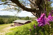 Glamping with Featherdown Farms Ceredigion Wales