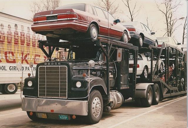Best Used Diesel Truck >> DODGE Bighorn Flynn Motors by PAcarhauler, via Flickr | Car haulers past and present | Pinterest ...