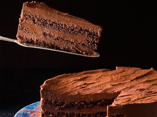 Τούρτα μπίτερ σοκολάτα με ρούμι
