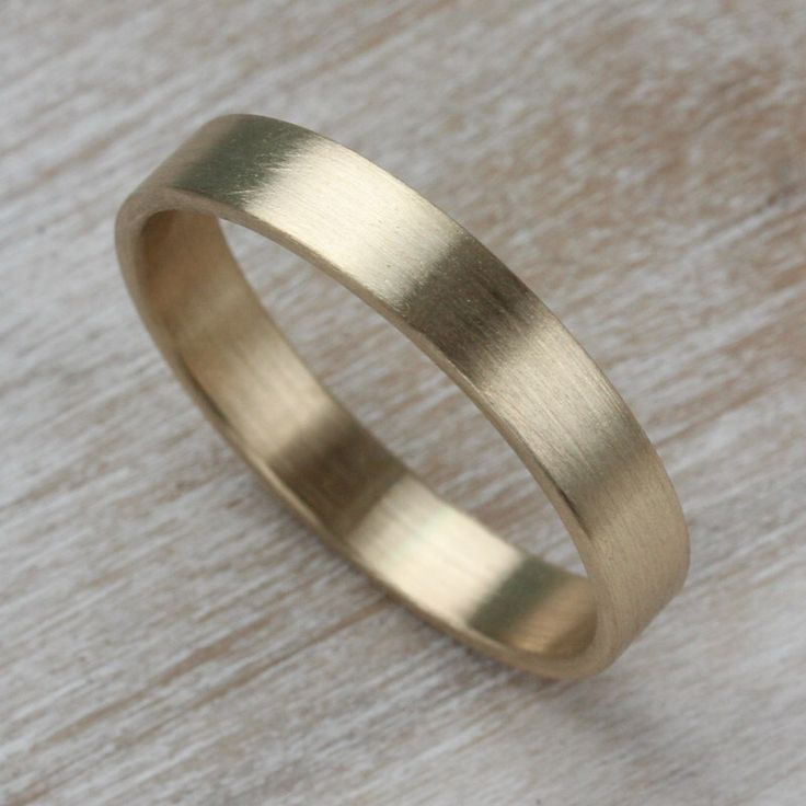 Flat Men s Wedding Band   Narrow and Slim Bespoke eco friendly recycled  gold ring   Brushed or Shiny finish   Modern Wedding RingBest 25  Modern wedding rings ideas on Pinterest   Modern  . Modern Mens Wedding Band. Home Design Ideas