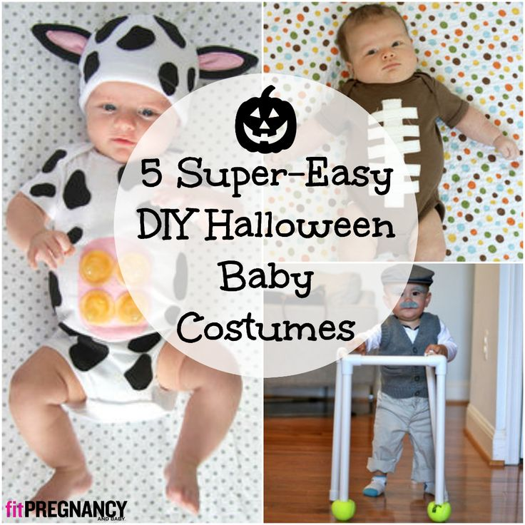 5 super easy diy halloween baby costumes make one tonight - Diy Halloween Baby Costumes