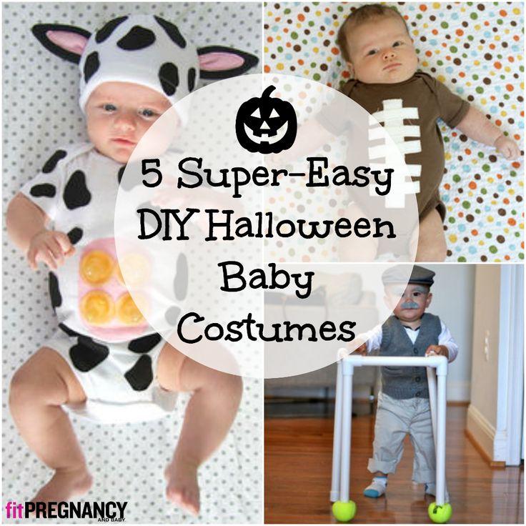 5 super easy diy halloween baby costumes make one tonight - Diy Halloween Baby Costumes