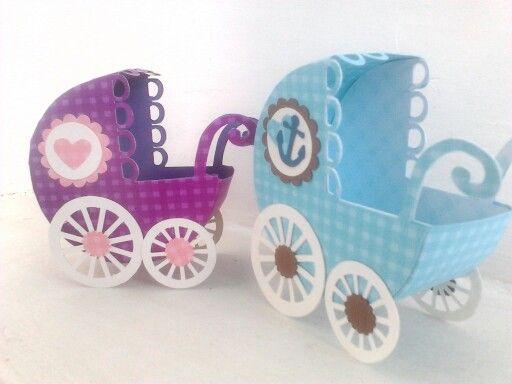 Lindos Coches Cochecitos Para Baby Shower Baby Shower