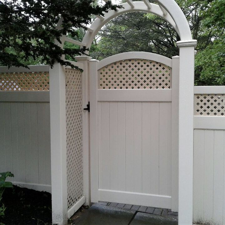 Tan 42 Wide Pvc Grand Arbor With Lattice Sides 72 Infinity With