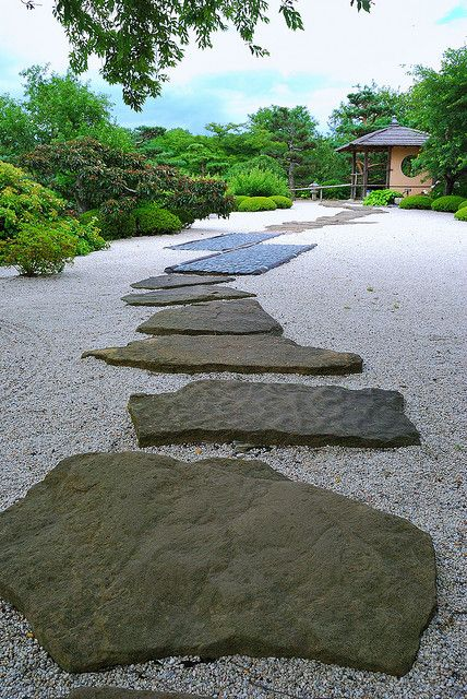 Pathway of the Gods - Japanese Rock Garden, Chicago Botanic Garden