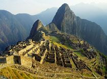 MACHU PICCHU ......for the millineum solstice......directly behind the stone........unbelievable