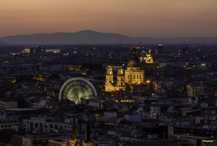 The downtown spins around by Denes Kiss on 500px