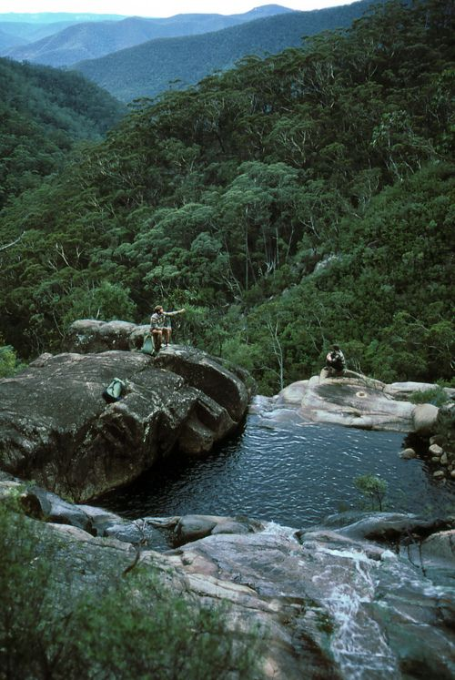 Kanangra-Boyd National Park, New South Wales, Australia - one section of the Greater Blue Mountains Unesco World Heritage site.
