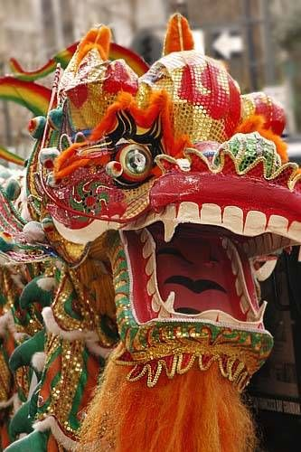 The Dragon Parade is a staple of the Chinese New Year festivities.
