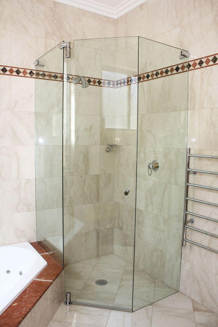 White Bathroom Co Willoughby shower screens - vanites- mirrors- glass - frameless pivot showers
