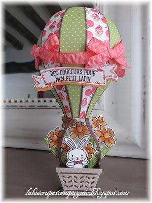 Lolascrap et compagnie: Love is in the air ... un ballon pour mon petit lapin ;)