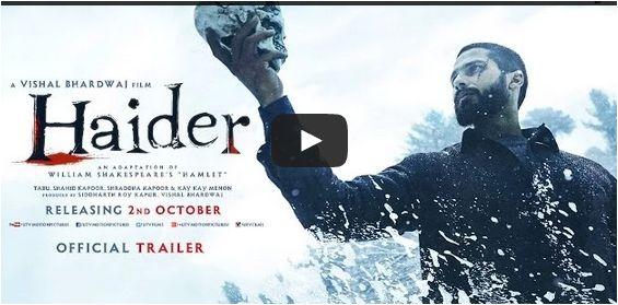 #Haider Movie #Trailer (Official)   #ShahidKapoor  #ShraddhaKapoor   2 Oct. 2014  http://bollywood.chdcaprofessionals.com/2014/07/haider-movie-trailer-official-shahid.html