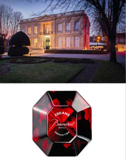 Août 2016: Une balade bordelaise: Expo Baccarat à l'Institut Culturel Bernard Magrez @plumevoyage  #bordeaux #baccarat #exposition #culture #chateaulabottiere #art #design #cristal #luxe #institutbernardmagrez #balades #plumevoyage
