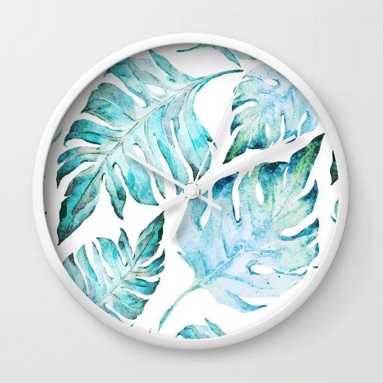 love tropical  Wall Clock