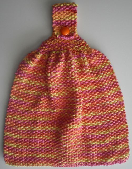 Ravelry: Textured Dish Towel free pattern by April Moreland