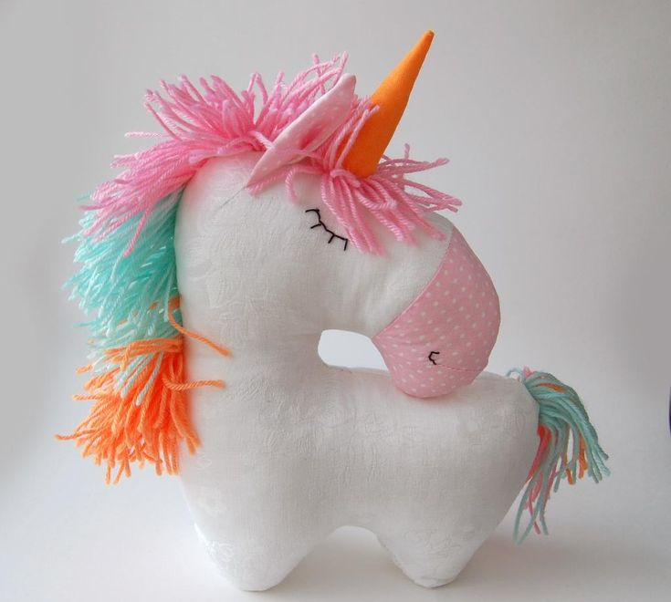Looking for your next project? You're going to love Sewing pattern Unicorn stuffed horse toy by designer ToysPatternClub.