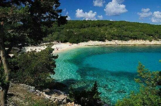 Emplisi beach Fiskardo Kefalonia