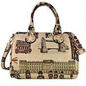 Vintage Print Ladies PU Leather Fashion Bags – EUR € 40.42